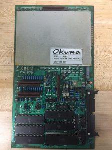 E0227 702 009 OKUMA BUBBLE MEMORY BOARD